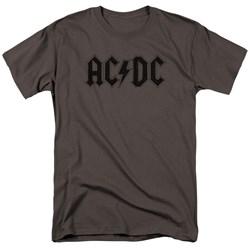 Acdc - Mens Worn Logo T-Shirt
