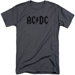 Acdc - Mens Worn Logo Tall T-Shirt