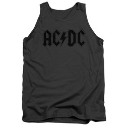 Acdc - Mens Worn Logo Tank Top