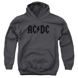 Acdc - Youth Worn Logo Pullover Hoodie