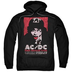 Acdc - Mens High Voltage Live 1975 Pullover Hoodie