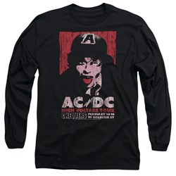 Acdc - Mens High Voltage Live 1975 Long Sleeve T-Shirt