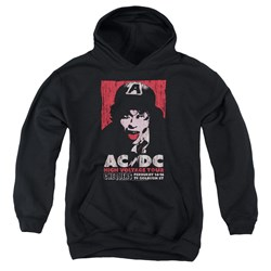Acdc - Youth High Voltage Live 1975 Pullover Hoodie