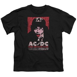 Acdc - Youth High Voltage Live 1975 T-Shirt