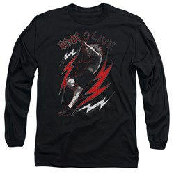 Acdc - Mens Live Long Sleeve T-Shirt