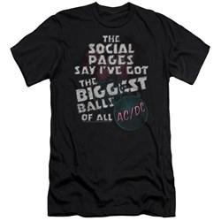 Acdc - Mens Big Balls Premium Slim Fit T-Shirt