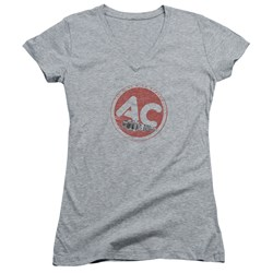 Ac Delco - Juniors Ac Circle V-Neck T-Shirt