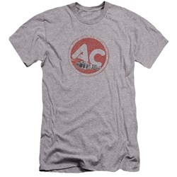 Ac Delco - Mens Ac Circle Premium Slim Fit T-Shirt
