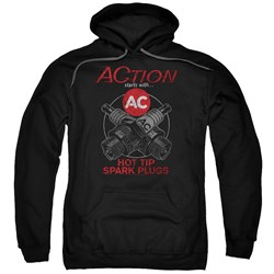 Ac Delco - Mens Cross Plugs Pullover Hoodie