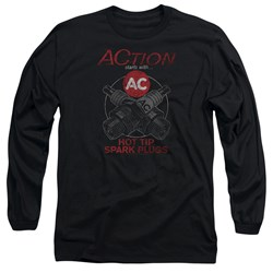 Ac Delco - Mens Cross Plugs Long Sleeve T-Shirt