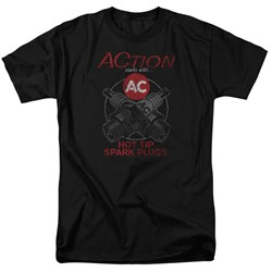 Ac Delco - Mens Cross Plugs T-Shirt