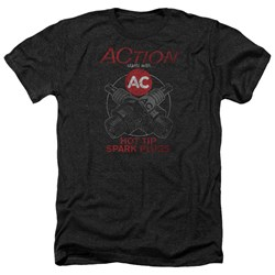 Ac Delco - Mens Cross Plugs Heather T-Shirt