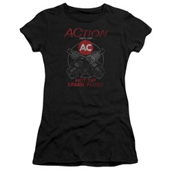Ac Delco - Juniors Cross Plugs T-Shirt