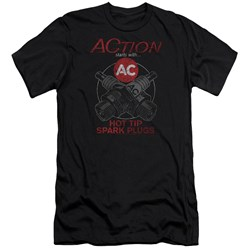 Ac Delco - Mens Cross Plugs Slim Fit T-Shirt