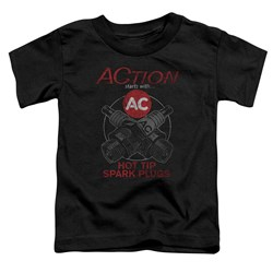 Ac Delco - Toddlers Cross Plugs T-Shirt