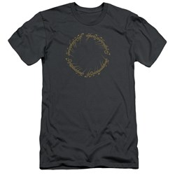 Lord Of The Rings - Mens One Ring Premium Slim Fit T-Shirt