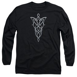 Lord Of The Rings - Mens Arwen Necklace Long Sleeve T-Shirt