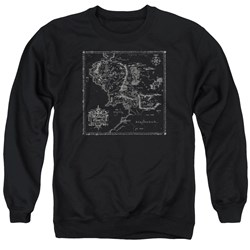Lord Of The Rings - Mens Map Of Me Sweater