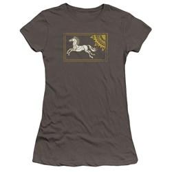 Lor - Juniors Rohan Banner Premium Bella T-Shirt