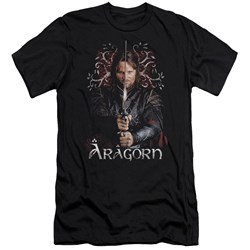 Lor - Mens Aragorn Premium Slim Fit T-Shirt