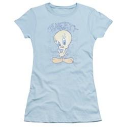 Looney Tunes - Juniors Tweety Fade T-Shirt