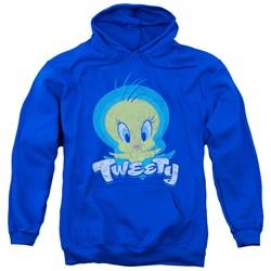 Looney Tunes - Mens Tweety Swirl Pullover Hoodie