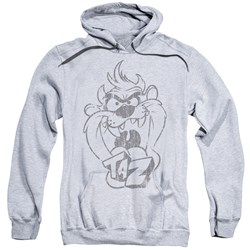 Looney Tunes - Mens Faded Taz Pullover Hoodie