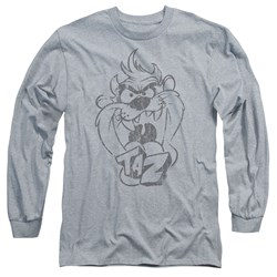 Looney Tunes - Mens Faded Taz Long Sleeve T-Shirt
