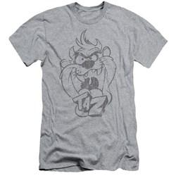 Looney Tunes - Mens Faded Taz Slim Fit T-Shirt