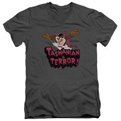 Looney Tunes - Mens Taz Terror V-Neck T-Shirt