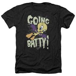 Looney Tunes - Mens Going Batty Heather T-Shirt