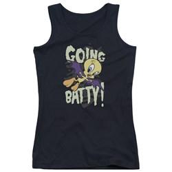 Looney Tunes - Juniors Going Batty Tank Top
