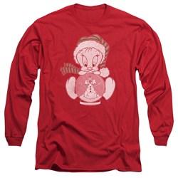 Looney Tunes - Mens Tweey Globe Long Sleeve T-Shirt
