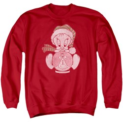 Looney Tunes - Mens Tweey Globe Sweater