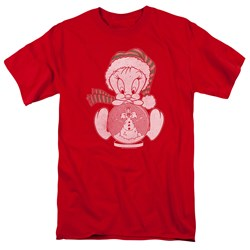 Looney Tunes - Mens Tweey Globe T-Shirt