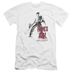 Army Of Darkness - Mens Names Ash Premium Slim Fit T-Shirt