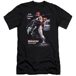 Robocop - Mens Poster Premium Slim Fit T-Shirt