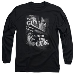 Army Of Darkness - Mens Guy With The Gun Long Sleeve T-Shirt