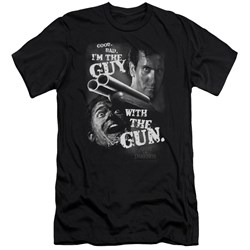 Army Of Darkness - Mens Guy With The Gun Premium Slim Fit T-Shirt