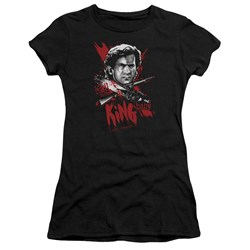 Army Of Darkness - Juniors Hail To The King Premium Bella T-Shirt