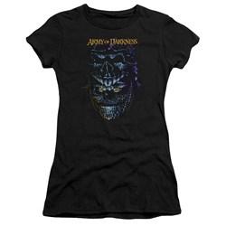 Army Of Darkness - Juniors Evil Ash Premium Bella T-Shirt