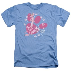 Pink Panther - Mens Walk All Over Heather T-Shirt