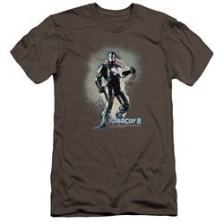 Robocop - Mens Break On Through Premium Slim Fit T-Shirt