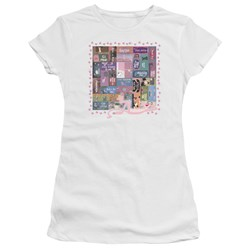 Pink Panther - Juniors Vintage Titles Premium Bella T-Shirt