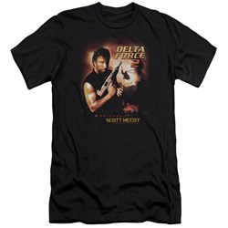 Delta Force - Mens Delta Force 2 Poster Premium Slim Fit T-Shirt