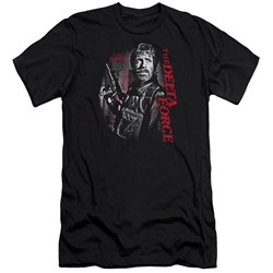 Delta Force - Mens Black Ops Premium Slim Fit T-Shirt