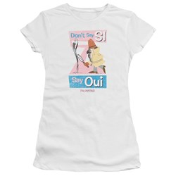 Pink Panther - Juniors Say Oui Premium Bella T-Shirt