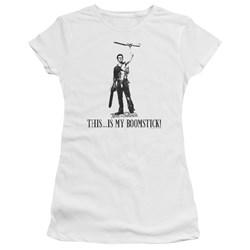 Army Of Darkness - Juniors Boomstick! Premium Bella T-Shirt