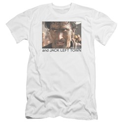 Army Of Darkness - Mens Jack Left Town Premium Slim Fit T-Shirt