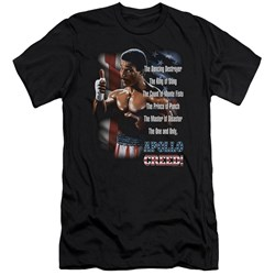 Rocky Ii - Mens The One And Only Premium Slim Fit T-Shirt